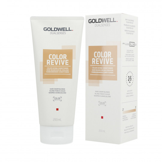 GOLDWELL DUALSENSES COLOR REVIVE Odżywka koloryzująca Dark Warm Blonde 200ml