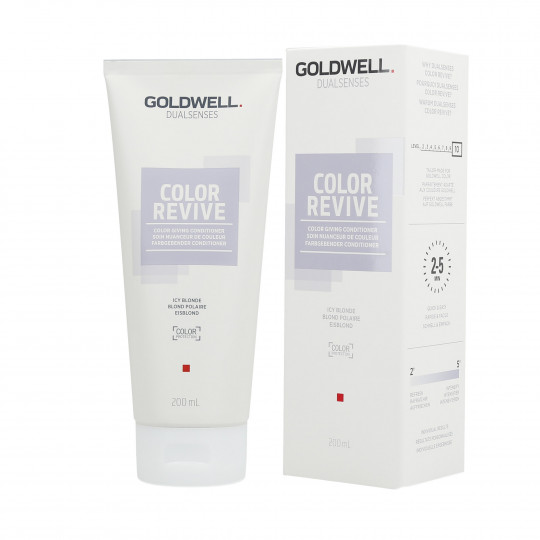 GOLDWELL DUALSENSES COLOR REVIVE Conditioner Icy Blonde 200ml - 1