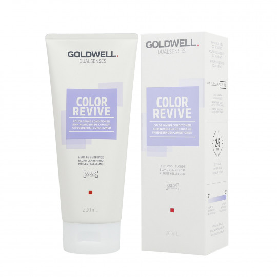 GOLDWELL DUALSENSES COLOR REVIVE Odżywka koloryzująca Light Cool Blonde 200ml