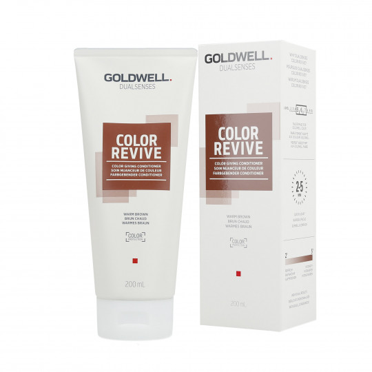 GOLDWELL DUALSENSES COLOR REVIVE Odżywka koloryzująca Warm Brown 200ml
