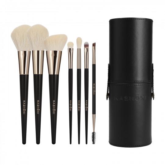 Kashōki by Tools For Beauty, SUISEN 8-częściowy zestaw pędzli i akcesoriów do makijażu