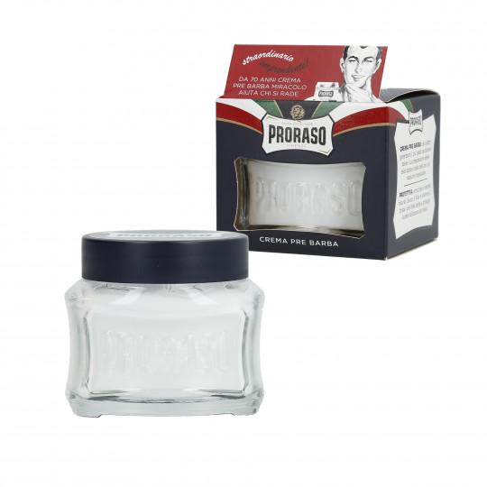 PRORASO BLUE Moisturising shave cream 100ml - 1