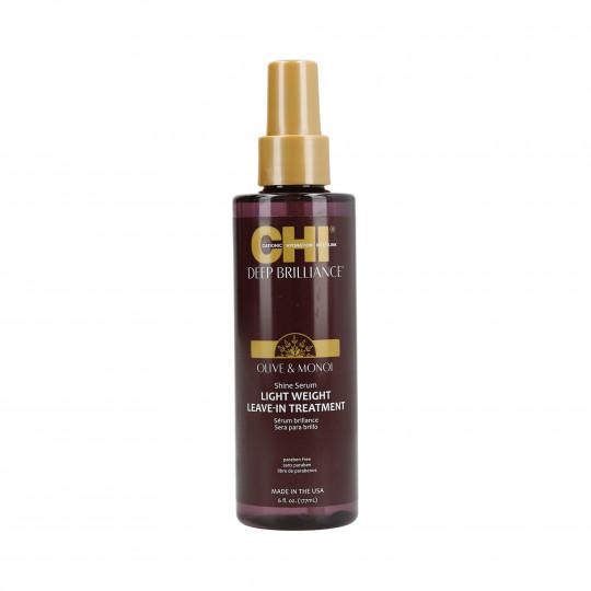 CHI DEEP BRILLIANCE Olive&Monoi Serum nabłyszczające do włosów 177ml