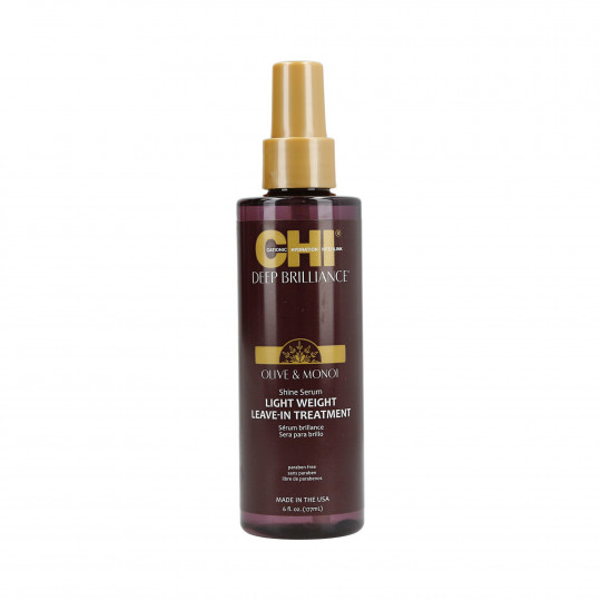 CHI DEEP BRILLIANCE Olive&Monoi Serum nabłyszczające do włosów 177ml - 1