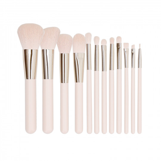 Makeup brush set 12 pcs - 1