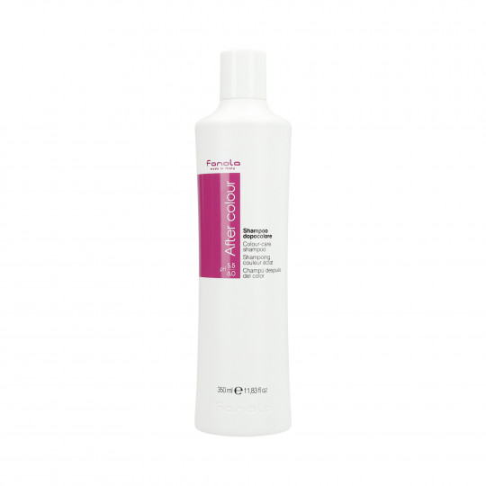 FANOLA AFTER COLOUR Shampoo for colour-treated hair 350ml - 1
