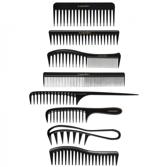 KASHŌKI Zestaw 8 grzebieni do włosów