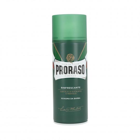 PRORASO GREEN Odświeżająca pianka do golenia 400ml