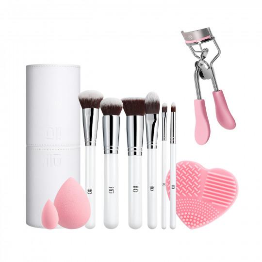ilū by Tools For Beauty, Pink Is An Attitude - Zestaw pędzli i akcesoriów do makijażu