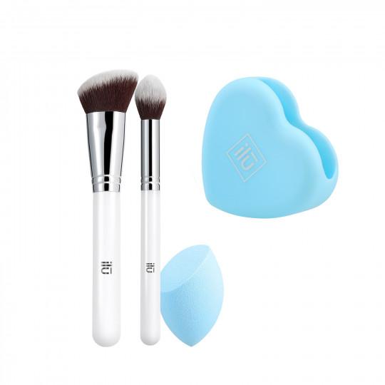 ilū by Tools For Beauty, Out Of The Blue - Zestaw pędzli i akcesoriów do makijażu