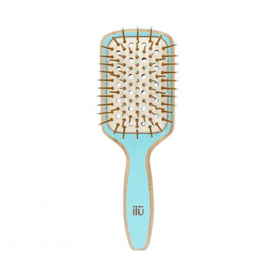 ilū by Tools For Beauty, Bambusowa szczotka do włosów - Ocean Breeze