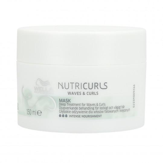 WELLA PROFESSIONALS NUTRICURLS Maska do włosów kręconych i falowanych 150ml