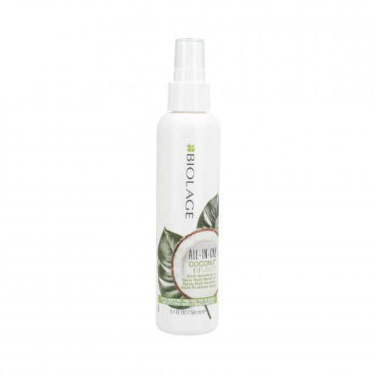 BIOLAGE ALL IN ONE Coconut Wielozadaniowy spray do włosów 150ml