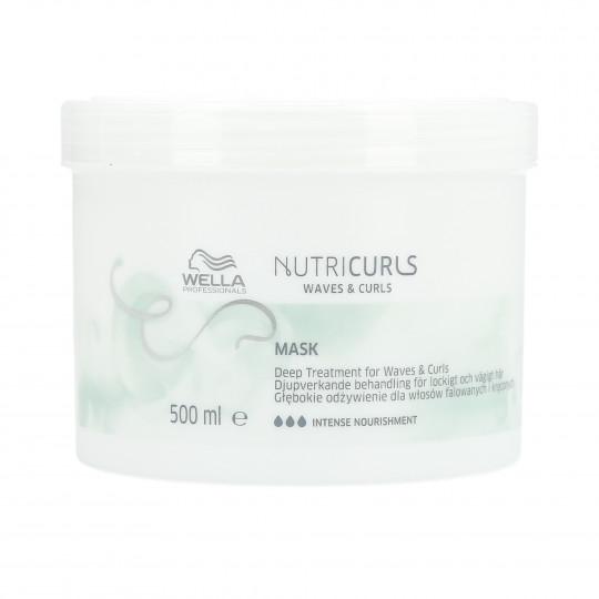 WELLA PROFESSIONALS NUTRICURLS Maska do włosów kręconych i falowanych 500ml