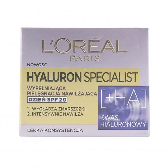 L'OREAL PARIS HYALURON SPECIALIST Krem do twarzy na dzień SPF20 50ml