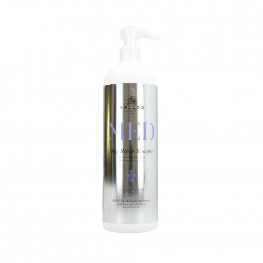 KALLOS MED Deep Repair Regenerujący szampon do włosów 1000ml