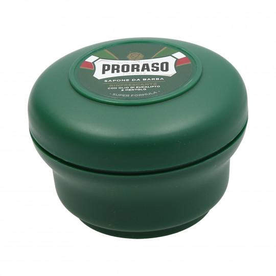 PRORASO GREEN Odświeżające mydło do golenia 150ml