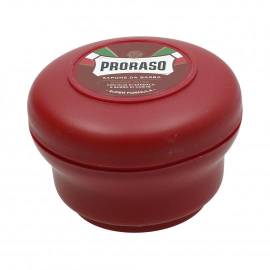 PRORASO RED Odżywcze mydło do golenia 150ml