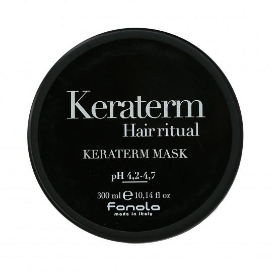 FANOLA KERATERM Maska z keratyną do włosów puszących się 300ml