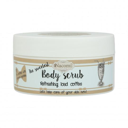 NACOMI Body Scrub Peeling do ciała – mrożona kawa 125g