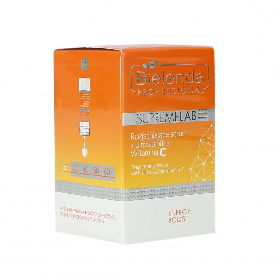 BIELENDA PROFESSIONAL SUPREMELAB Energy Boost Serum rozjaśniające z witaminą C 15ml