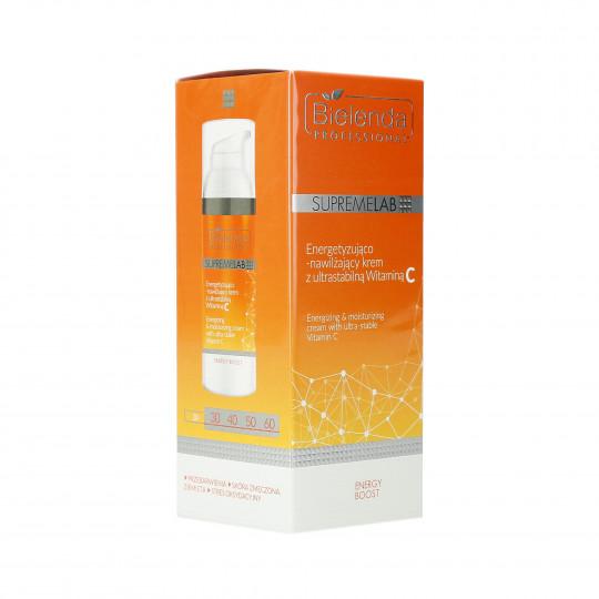 BIELENDA PROFESSIONAL SUPREMELAB Energy Boost Krem energetyzujący z witaminą C 50ml