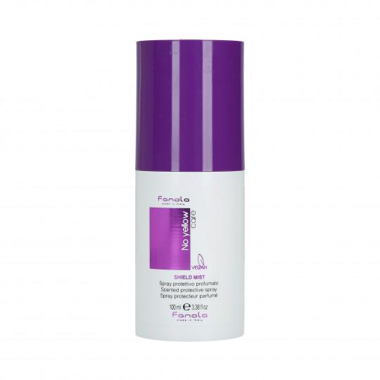 FANOLA NO YELLOW Shield Mist Perfumowany spray ochronny do włosów 100ml