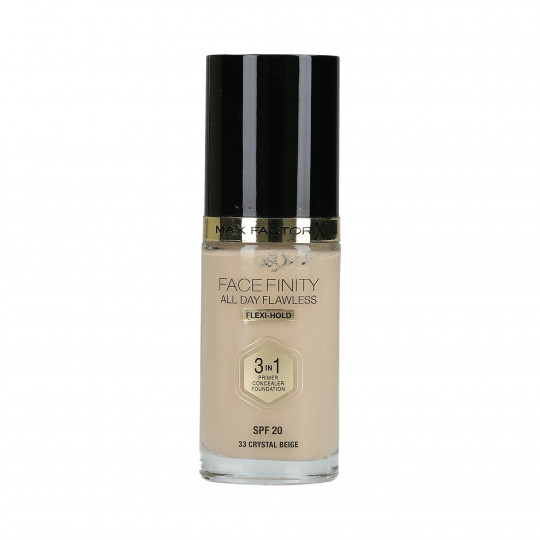 MAX FACTOR FACEFINITY All Day Flawless 3w1 Podkład do twarzy SPF20 30ml