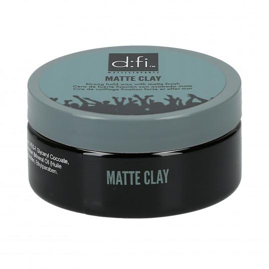 D:FI Matte Clay Matowa glinka do stylizacji włosów 75g