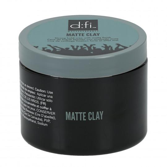 D:FI Matte Clay Matowa glinka do stylizacji włosów 150g