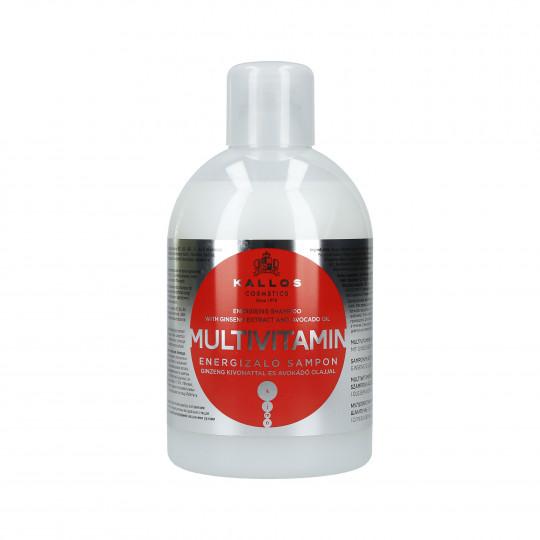 KALLOS KJMN Multivitamin Energetyzujący szampon do włosów 1000ml