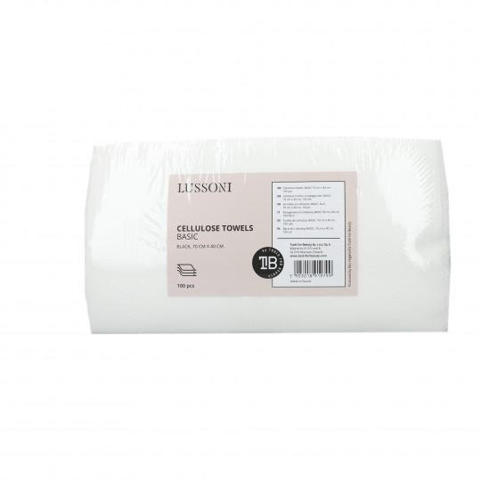 LUSSONI Ręczniki z celulozy BASIC, 70 cm x 40 cm, 100 szt.