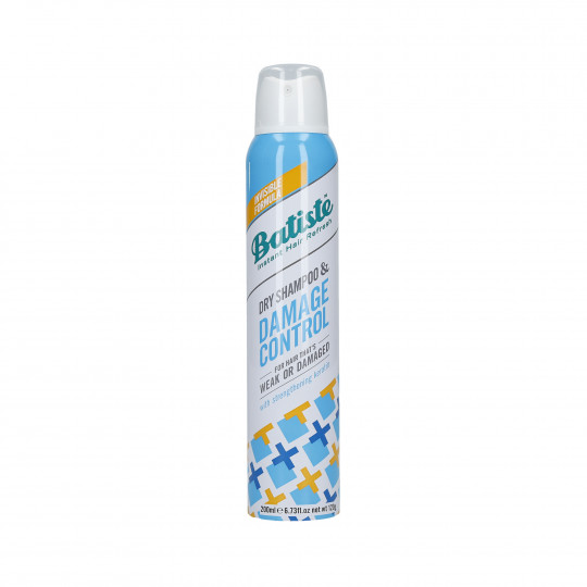 BATISTE DAMAGE CONTROL Suchy szampon do włosów zniszczonych 200ml