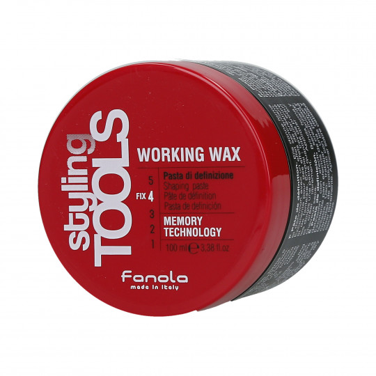 FANOLA STYLING TOOLS Working Wax Mocna pasta modelująca do włosów 100ml