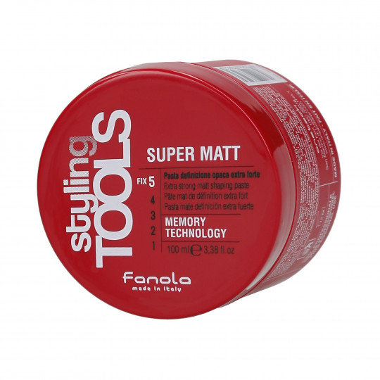 FANOLA STYLING TOOLS Super Matt Bardzo mocna matowa pasta do włosów 100ml