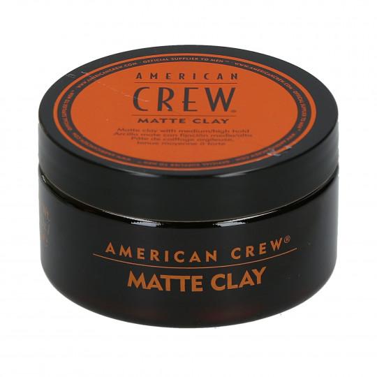 AMERICAN CREW Matte Clay Matowa glinka do stylizacji włosów 85g