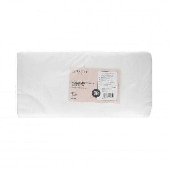 LUSSONI by Tools For Beauty, Ręczniki z włókniny BASIC EXTRA, 70 cm x 50 cm, 100 szt.