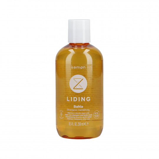 KEMON LIDING BAHIA Orzeźwiający szampon do włosów i ciała po opalaniu 250ml