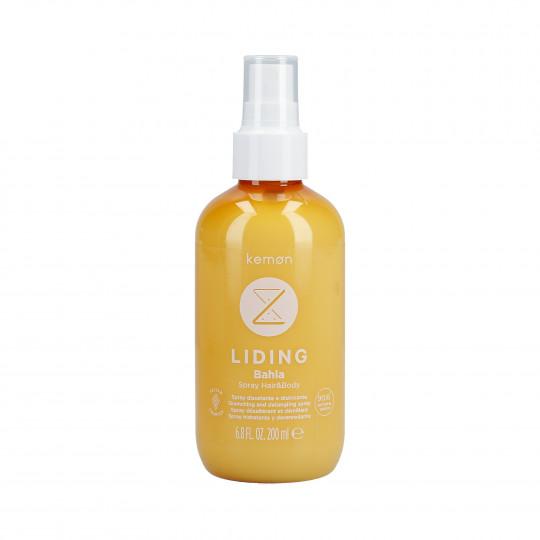 KEMON LIDING BAHIA Nawilżający spray do włosów i ciała po opalaniu 200ml