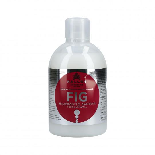 KALLOS KJMN Fig Wzmacniający szampon do włosów 1000ml