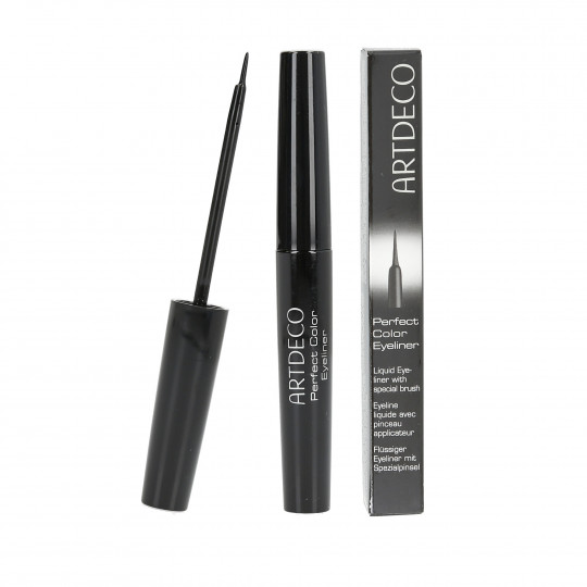 ARTDECO Perfect Color Czarny eyeliner w płynie 4,5ml