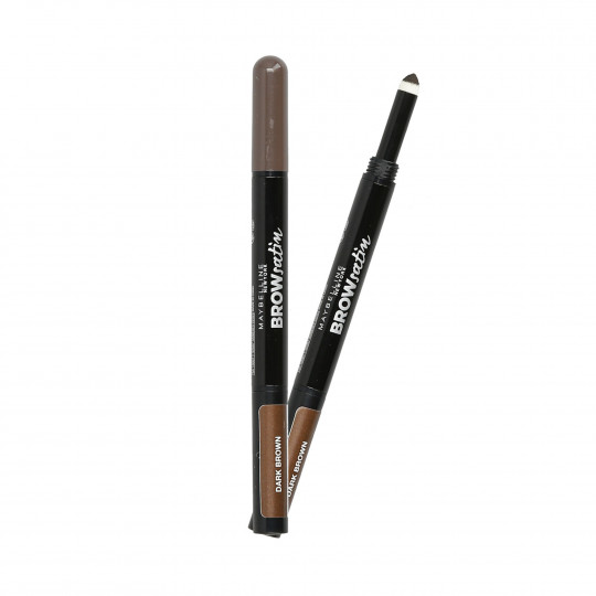 MAYBELLINE BROW Satin Duo Pencil Dwustronna kredka do brwi