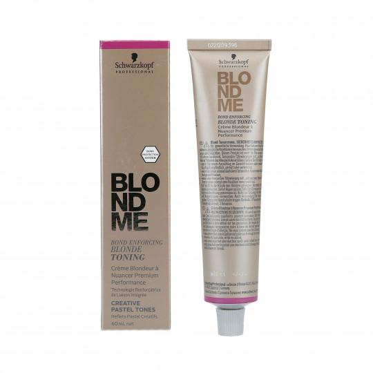 SCHWARZKOPF PROFESSIONAL BLONDME Pastelowy toner do włosów blond 60ml