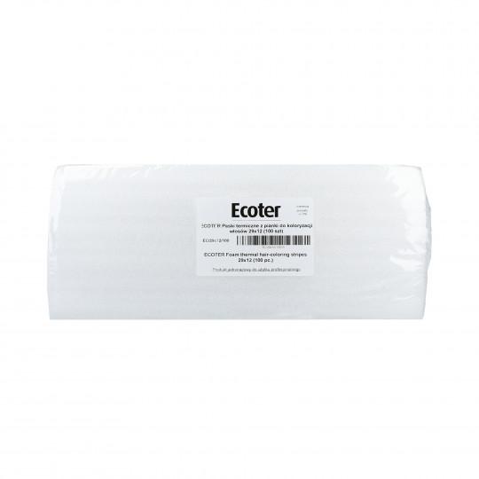 EKO-HIGIENA Paski termiczne z pianki do koloryzacji włosów 100szt.