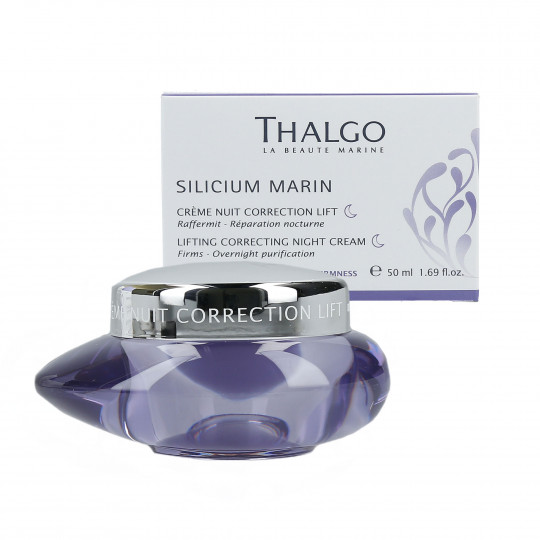 THALGO SILICIUM Marin Liftingujący krem do twarzy na noc 50ml