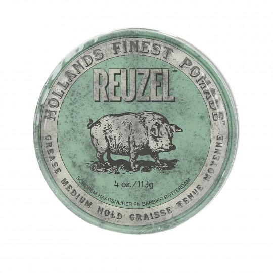 REUZEL Green Zielona pomada woskowa do włosów 113g