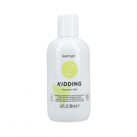 KEMON LIDING KIDDING Łagodny szampon do włosów i ciała dla dzieci 200ml