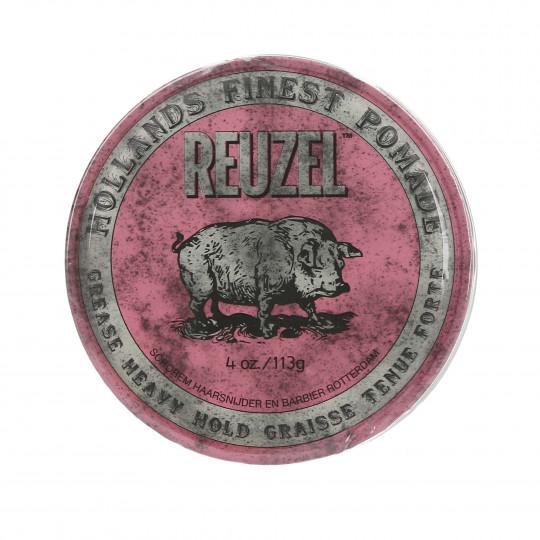 REUZEL Pink Różowa pomada woskowa do włosów 113g