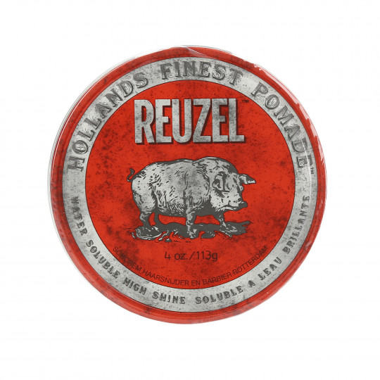REUZEL Red Czerwona pomada wodna do włosów 113g