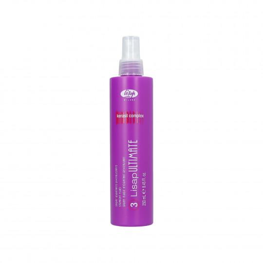 LISAP ULTIMATE 3 Straight Fluid Spray termoochronny do prostowania włosów 250ml